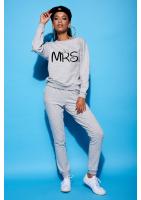 """Bawełniana bluza """"MRS"""" szara ILM"""