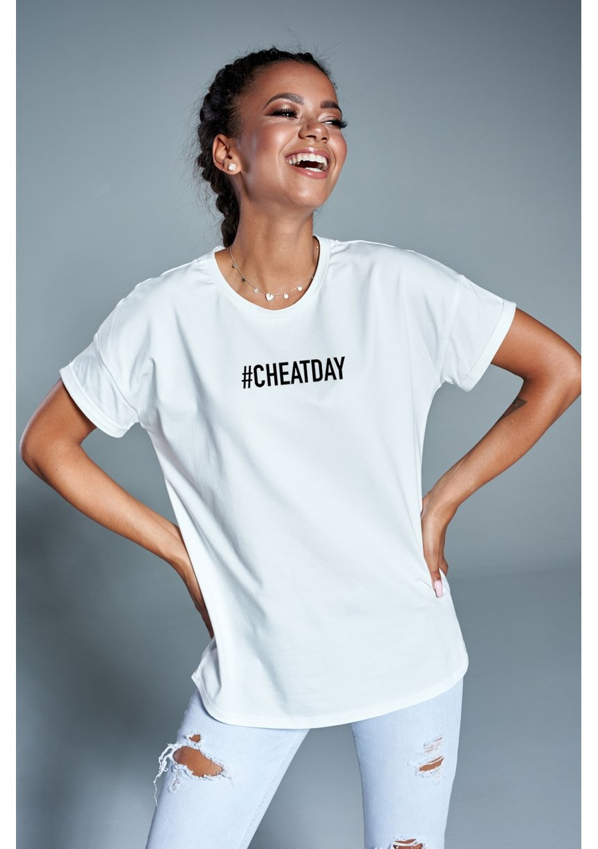 "T-shirt ""cheat day"" ILM"