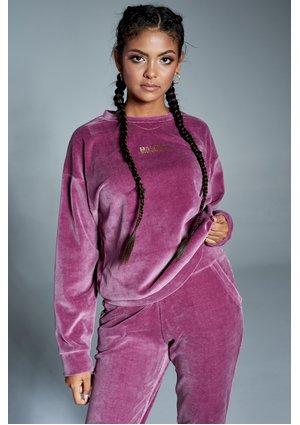 Bluza z weluru Fioletowa ILM