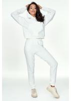 Dresowe spodnie Kremowe ILM