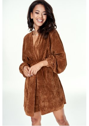 CARMEL CORDUROY DRESS