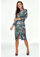 Sukienka z kimonową górą Print