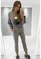 Bluza z aplikacją Christmas Tree ILM