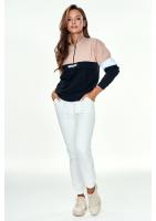 Bluza na stójce z kieszenią ILM