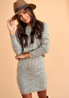 Melanżowy komplet swetrowy ILM A43