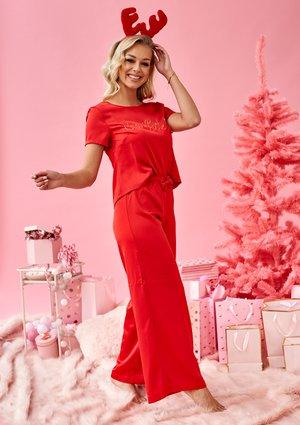"Piżama z satyny ""Santa Baby"""