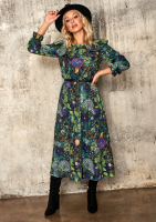 Sukienka midi Green garden