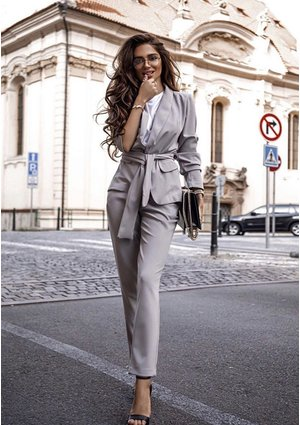 CLASSIC SUIT IN GREY COLOR