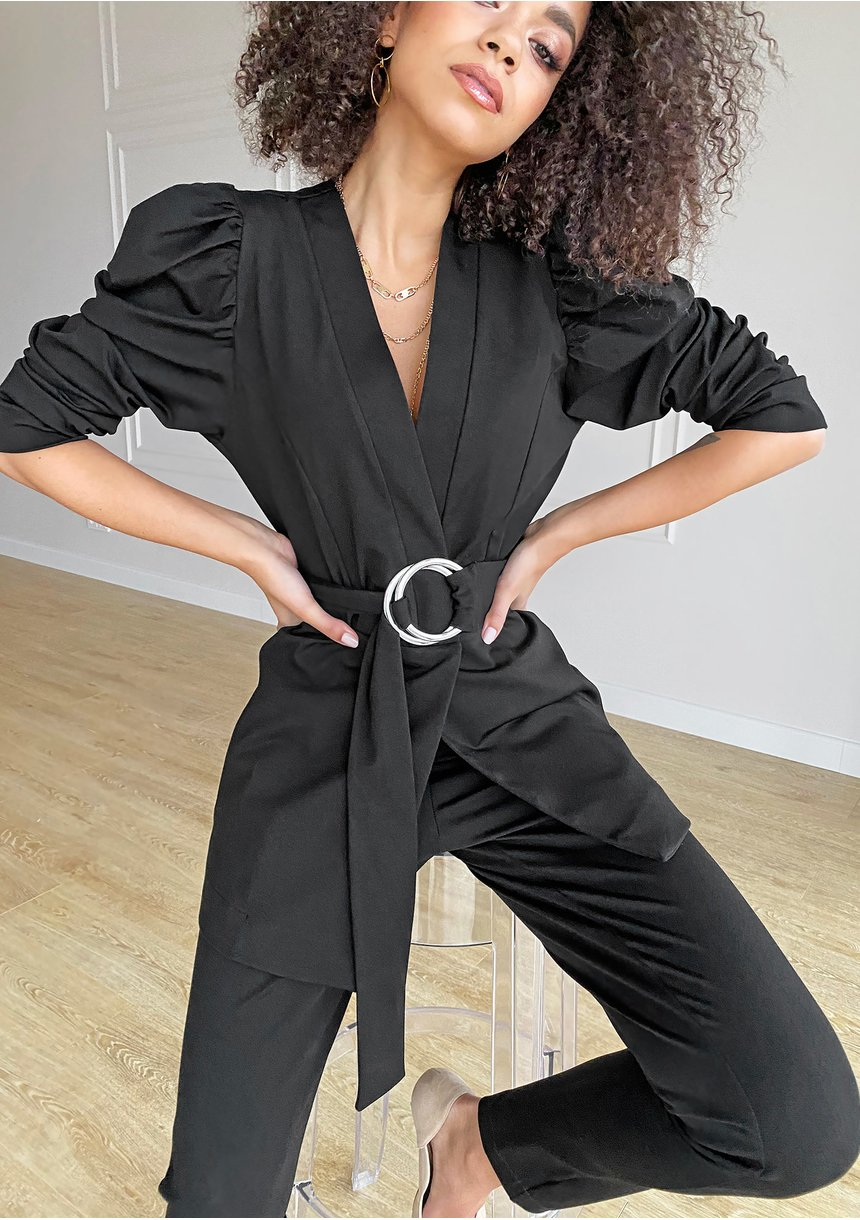Klasyczne spodnie Czarne