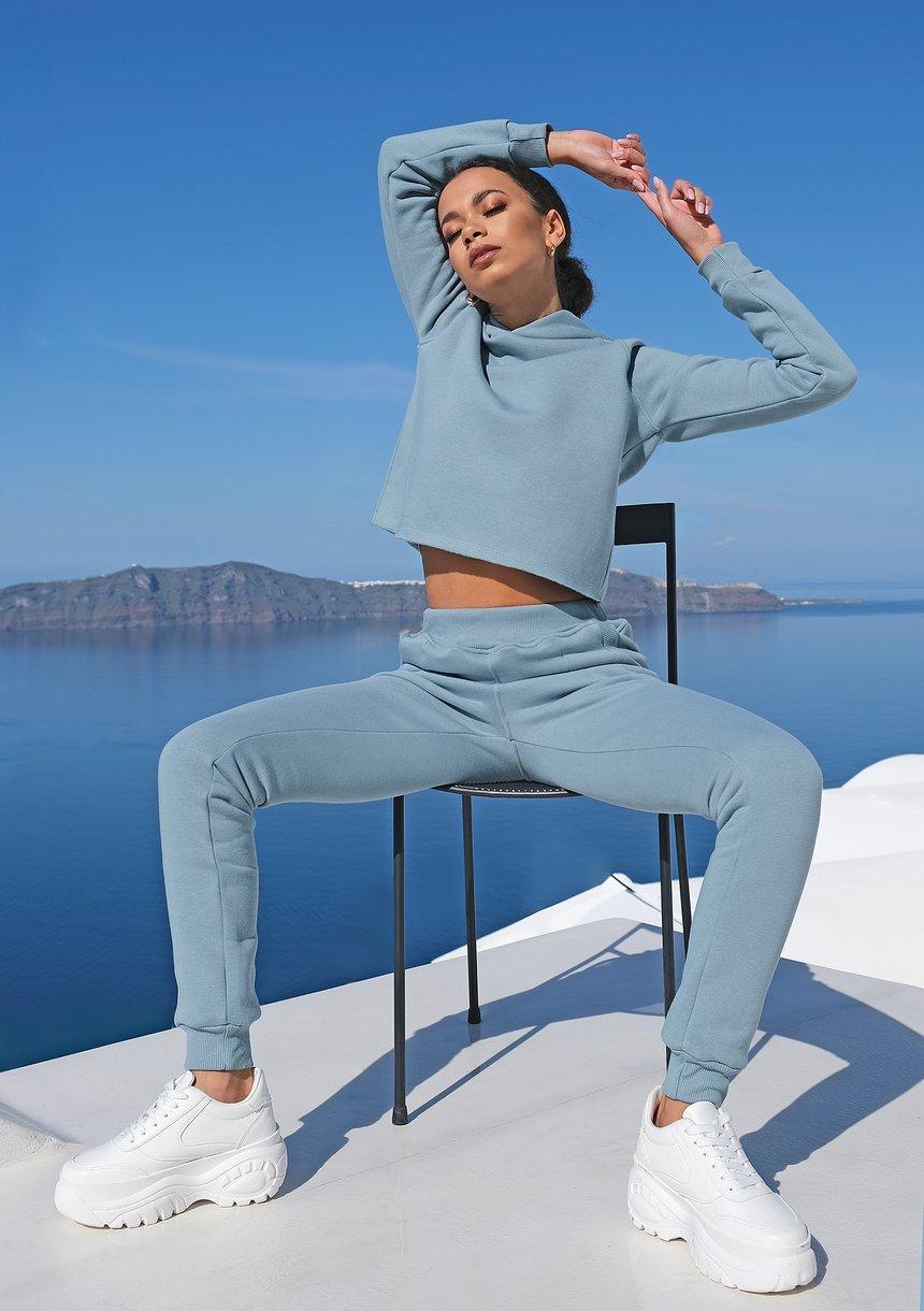 Dresowe spodnie ILM niebieskie