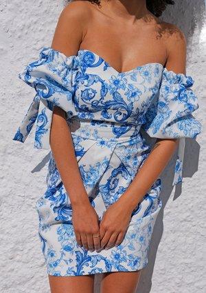 Gorsetowa sukienka Blue Print