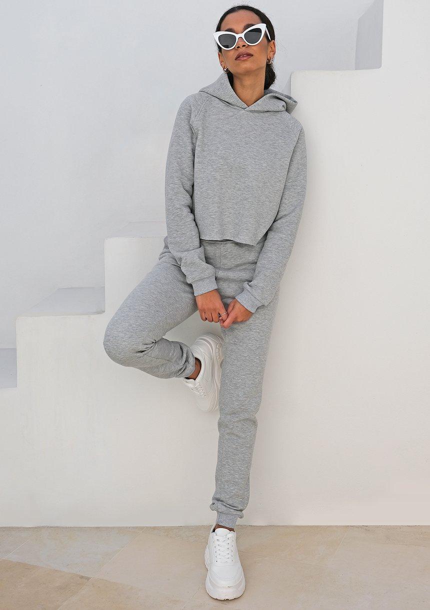 Dresowe spodnie ILM szare