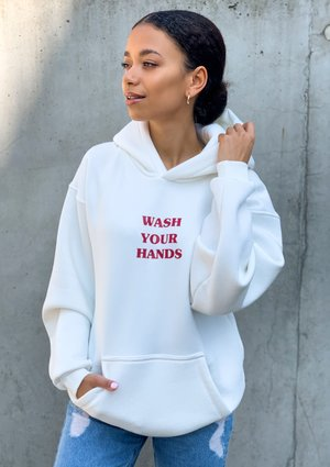 "Bluza "" Wash Your Hands """