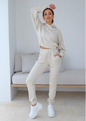 Spodnie welur 1