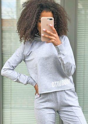 Grey cotton sweatshirt ILM