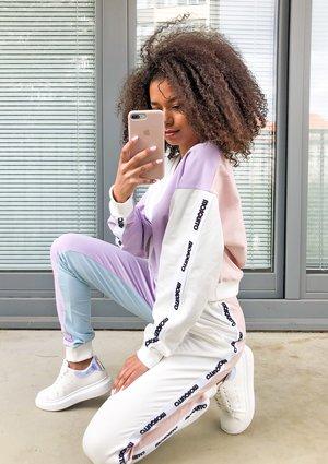 Spodnie dresowe Candy pastel ILM