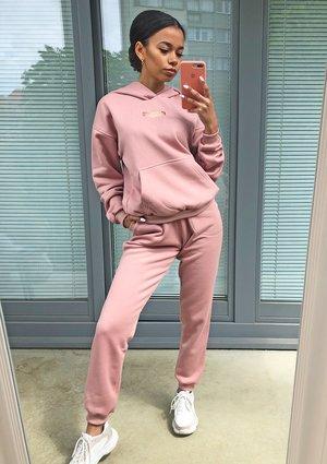 Dresowe spodnie Pudrowe ILM