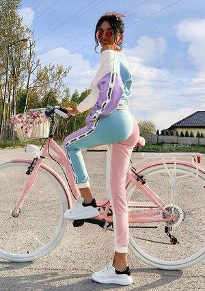 Bluza dresowa Candy pastel ILM