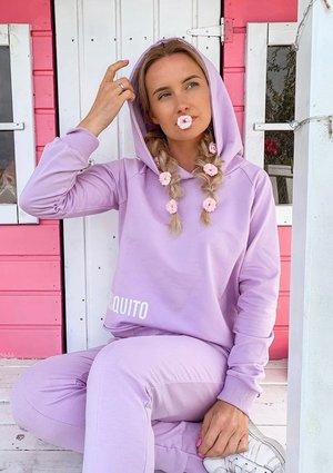 Pastel lilac cotton sweatshirt ILM