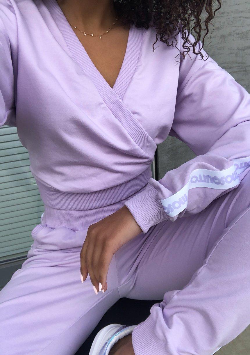 Kopertowa bluza z lampasem Lila ILM