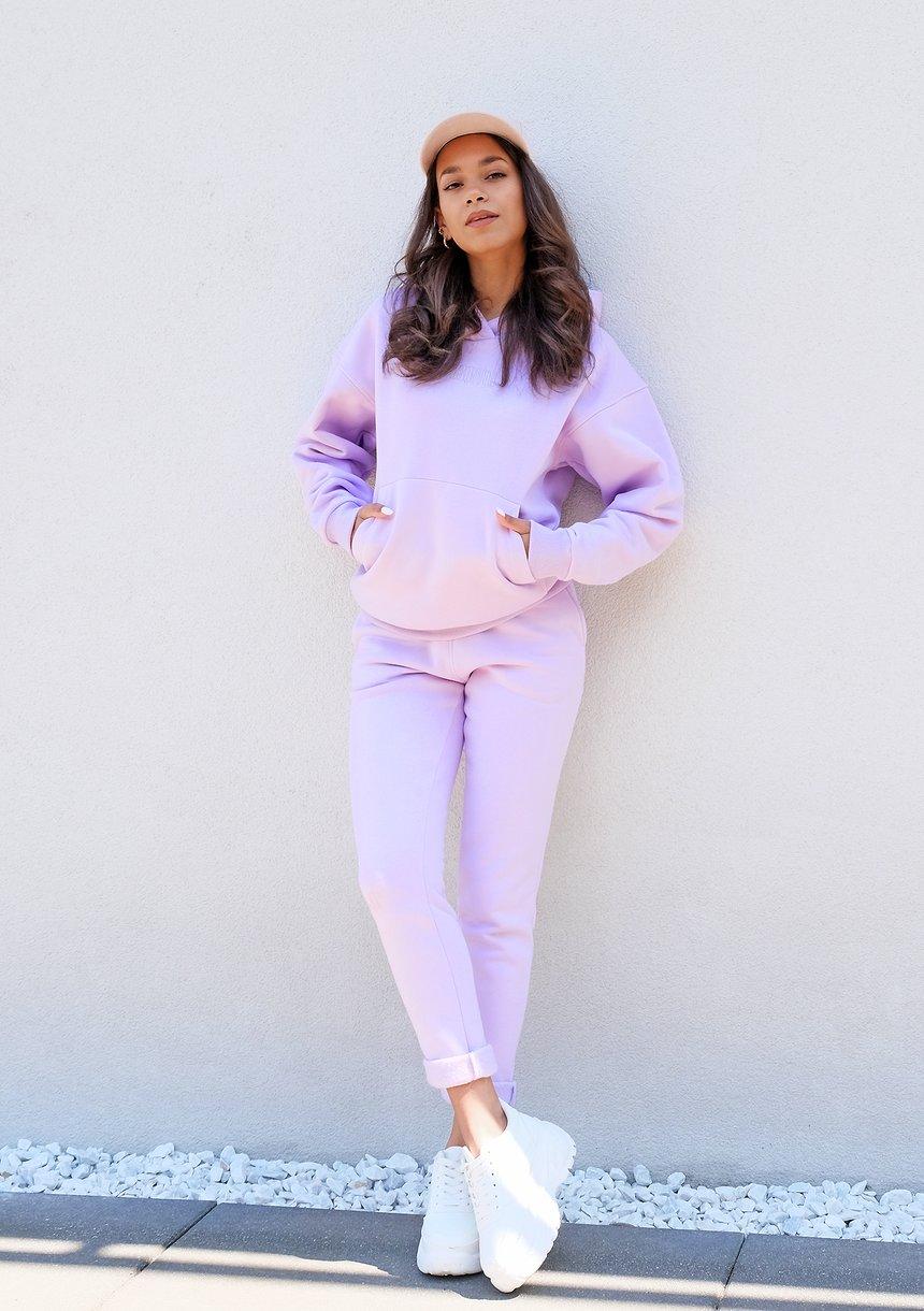 Bluza Kangurka z haftowanym logo Lila ILM