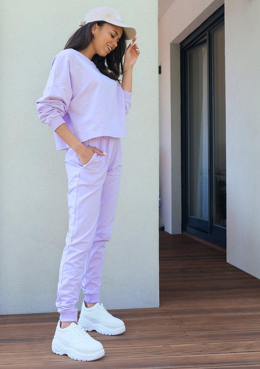 Spodnie dresowe o prostym kroju Lila ILM