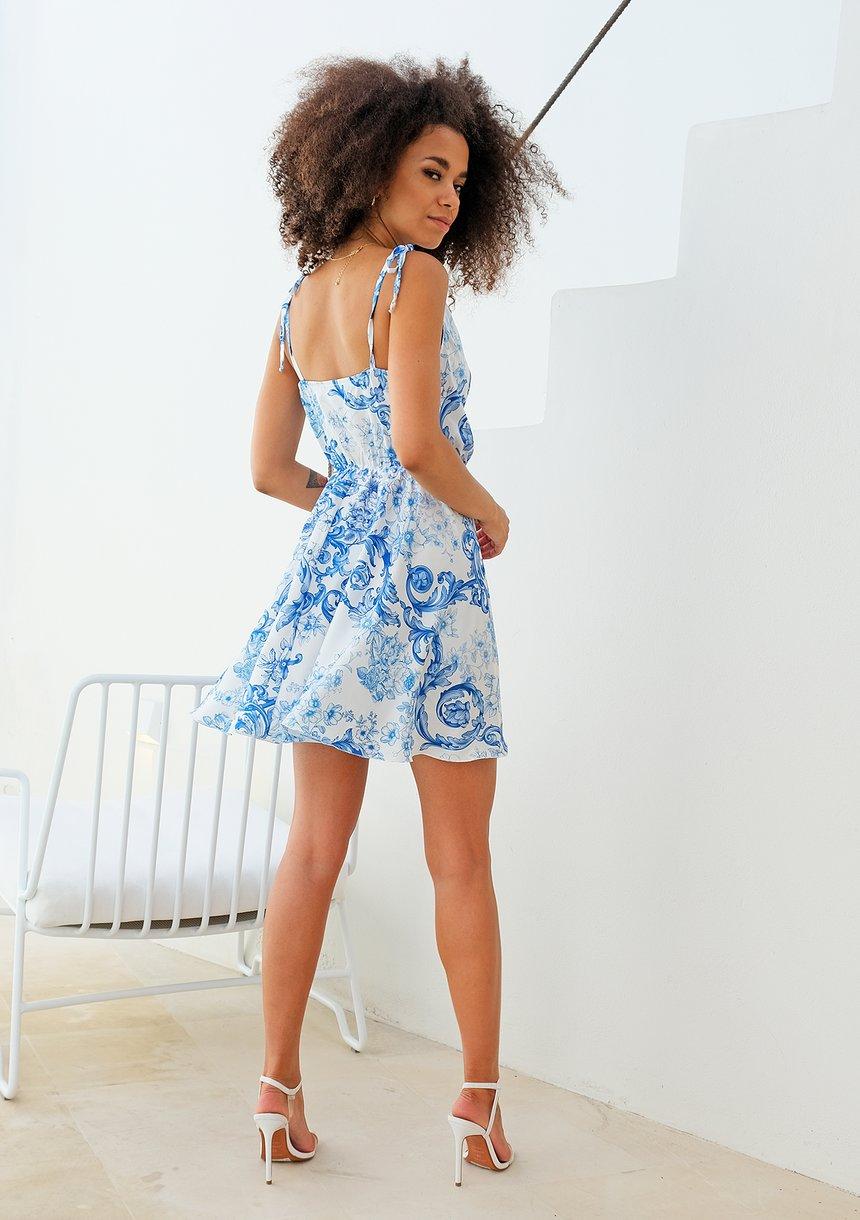 Sukienka mini Blue Thira