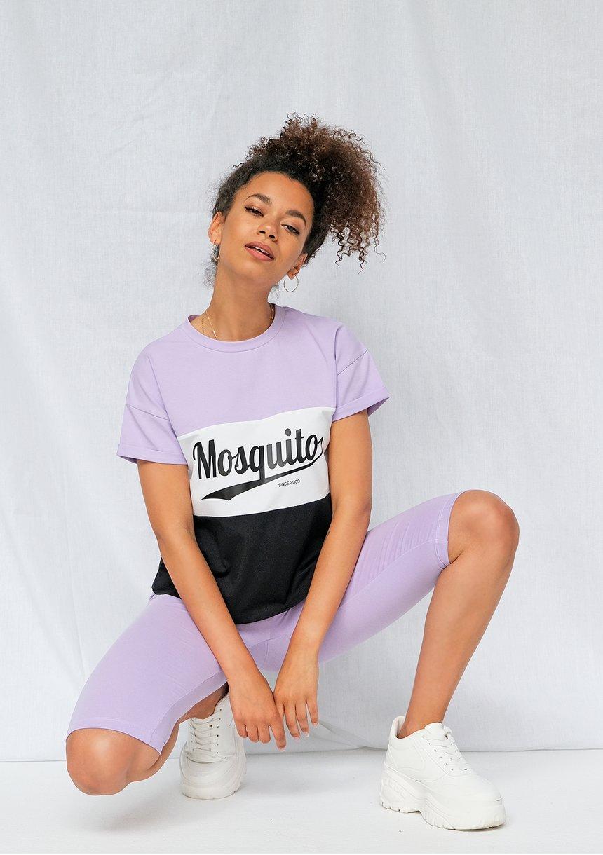 T-shirt ze wstawką Lila ILM