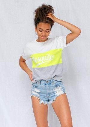 T-shirt ze wstawką Neon ILM