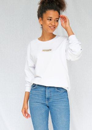 "Bluza ""gold logo"" biała ILM"