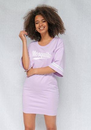 Tunika t-shirt Mosquito logo Lila ILM