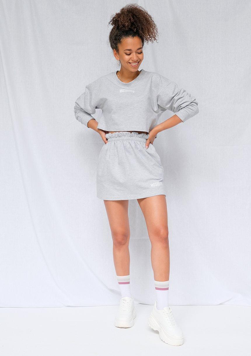 Melanżowa bluza cropped ILM