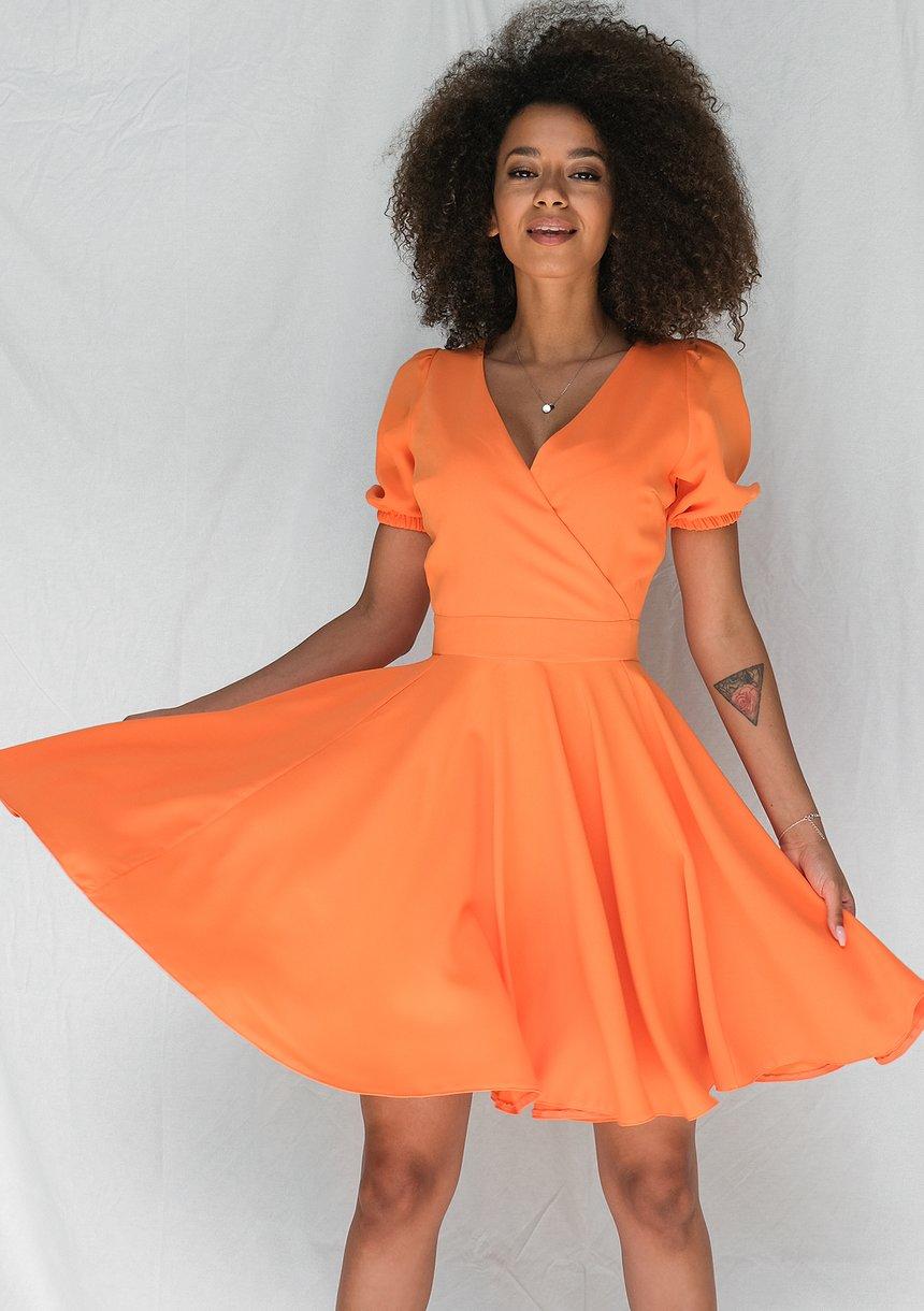 Sukienka z półtora koła Orange
