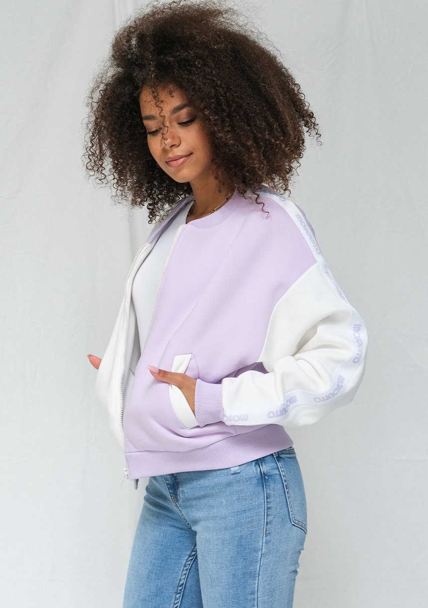 Bluza rozpinana typu Bomber Candy pastel ILM