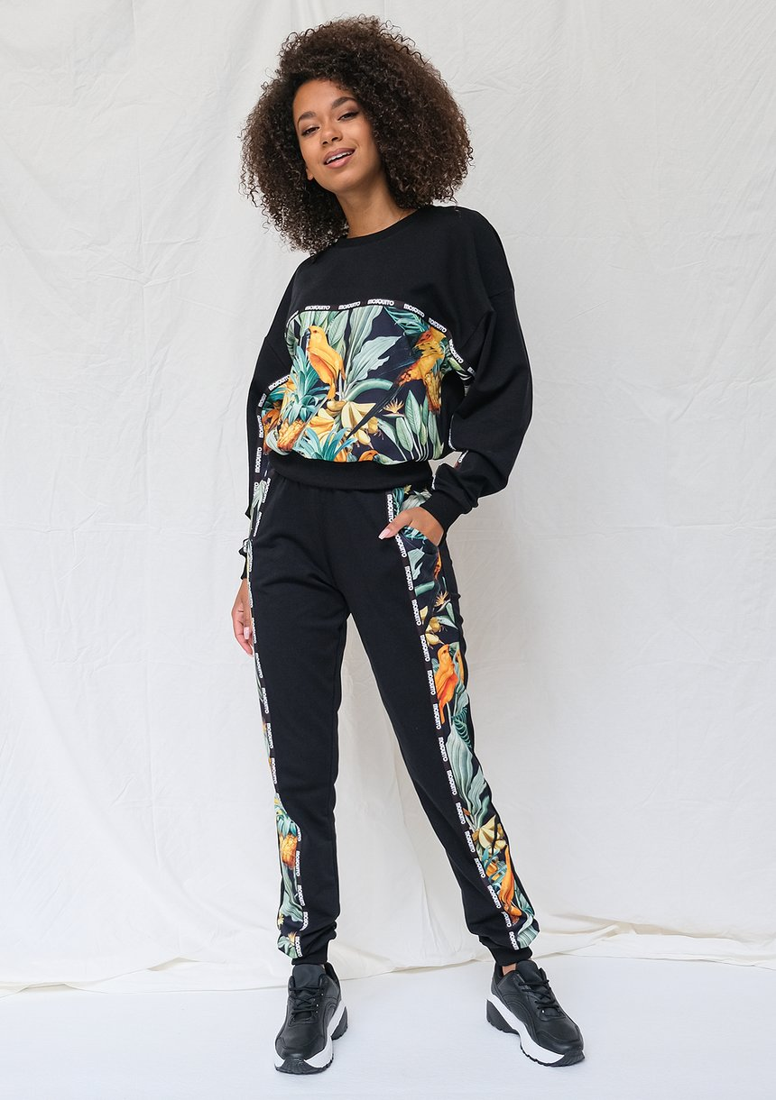 Spodnie ze wstawką parrots ILM