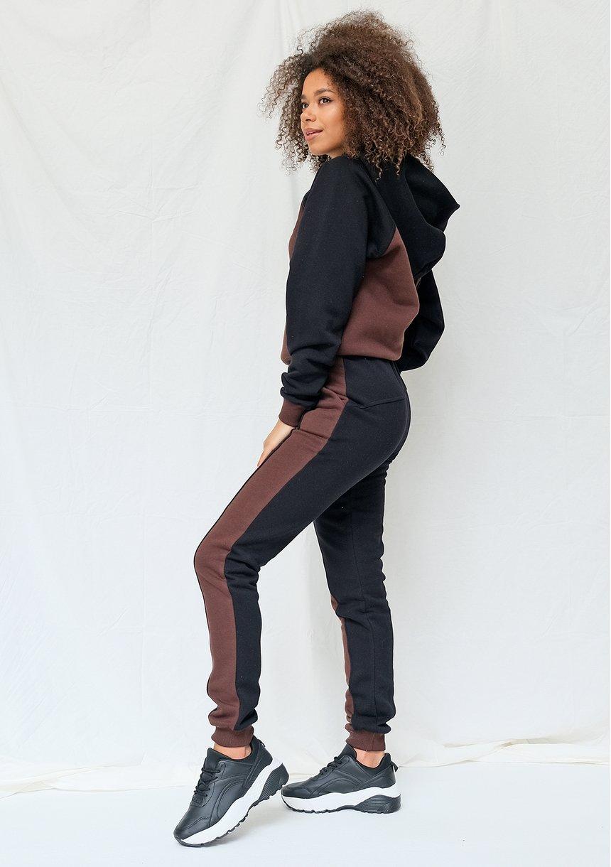 Bluza z kapturem brown ILM