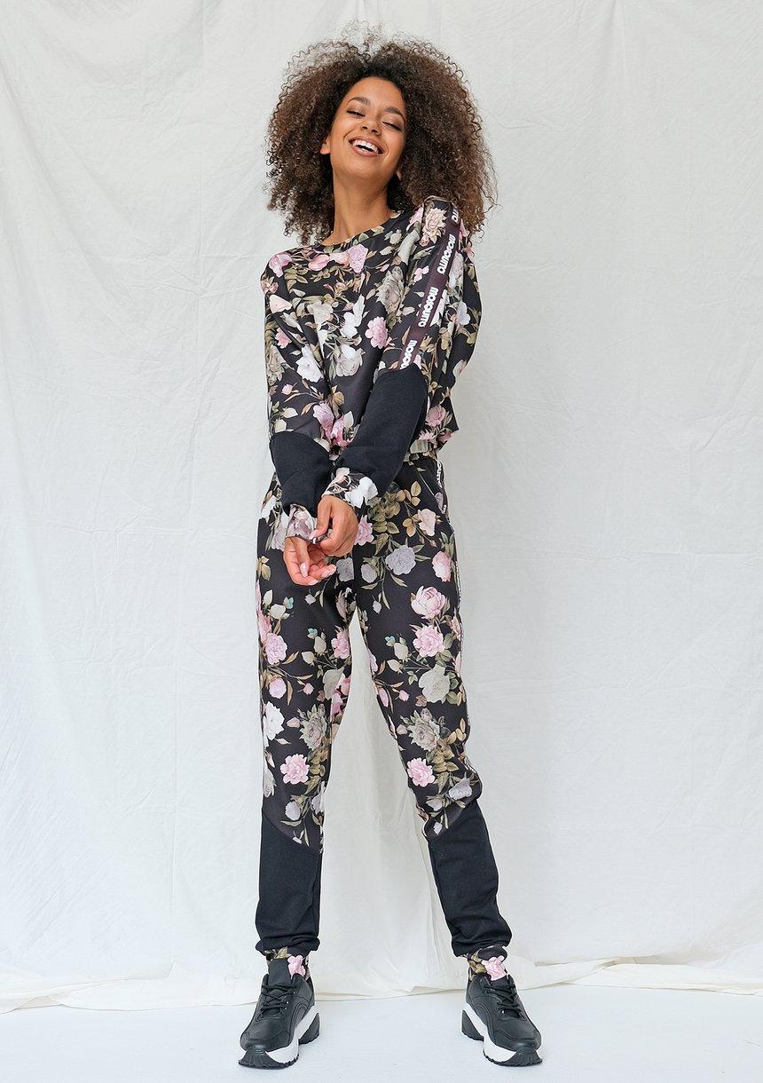 Spodnie dresowe rose print ILM
