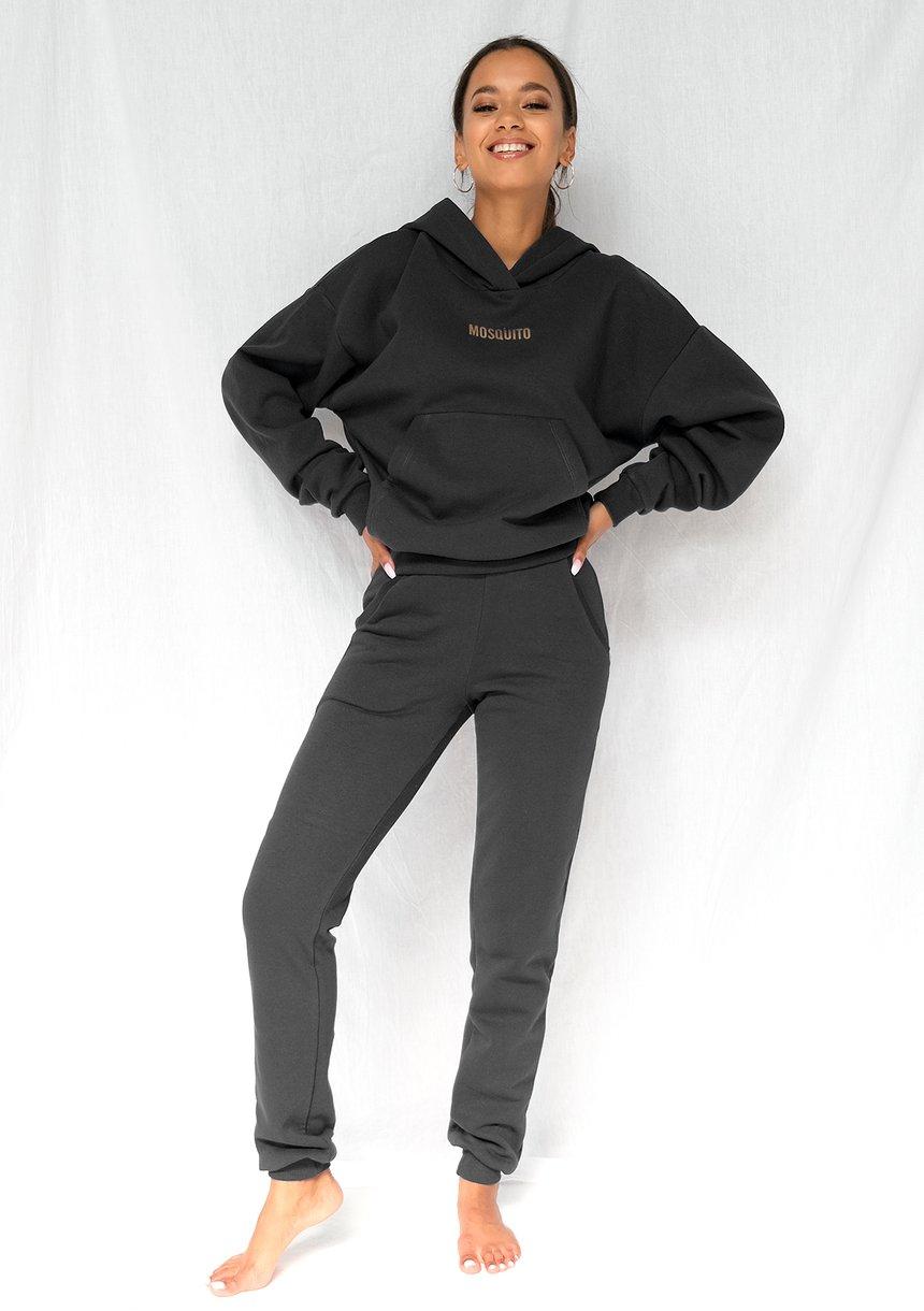 Dresowe spodnie Czarne ILM