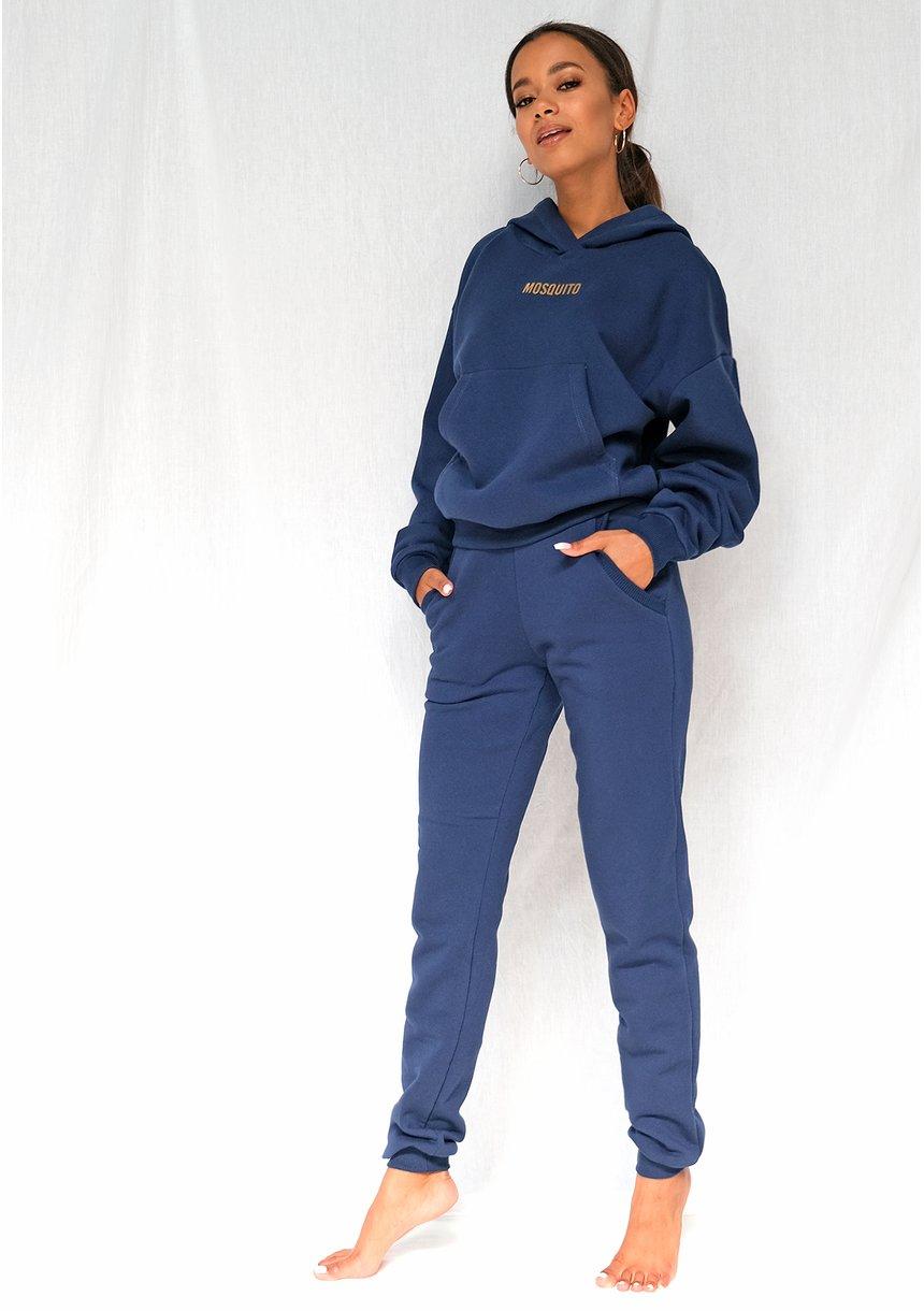 Bluza z kieszenią i kapturem Monaco Navy ILM
