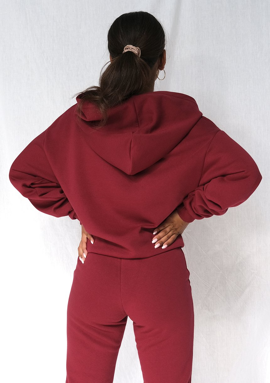 Dresowe spodnie Biking Red