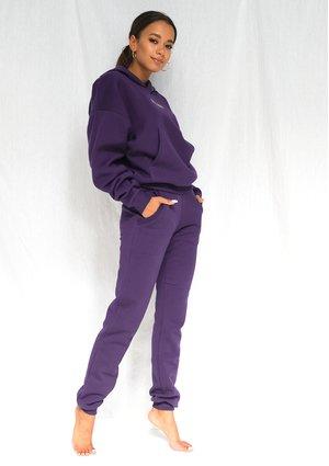 Dresowe spodnie Dark Plum ILM