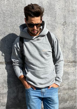Bluza kangurka unisex ILM Grey