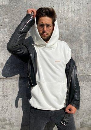 Bluza kangurka unisex ILM Ecrue