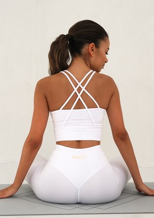 X Back Top White FT001 ILM