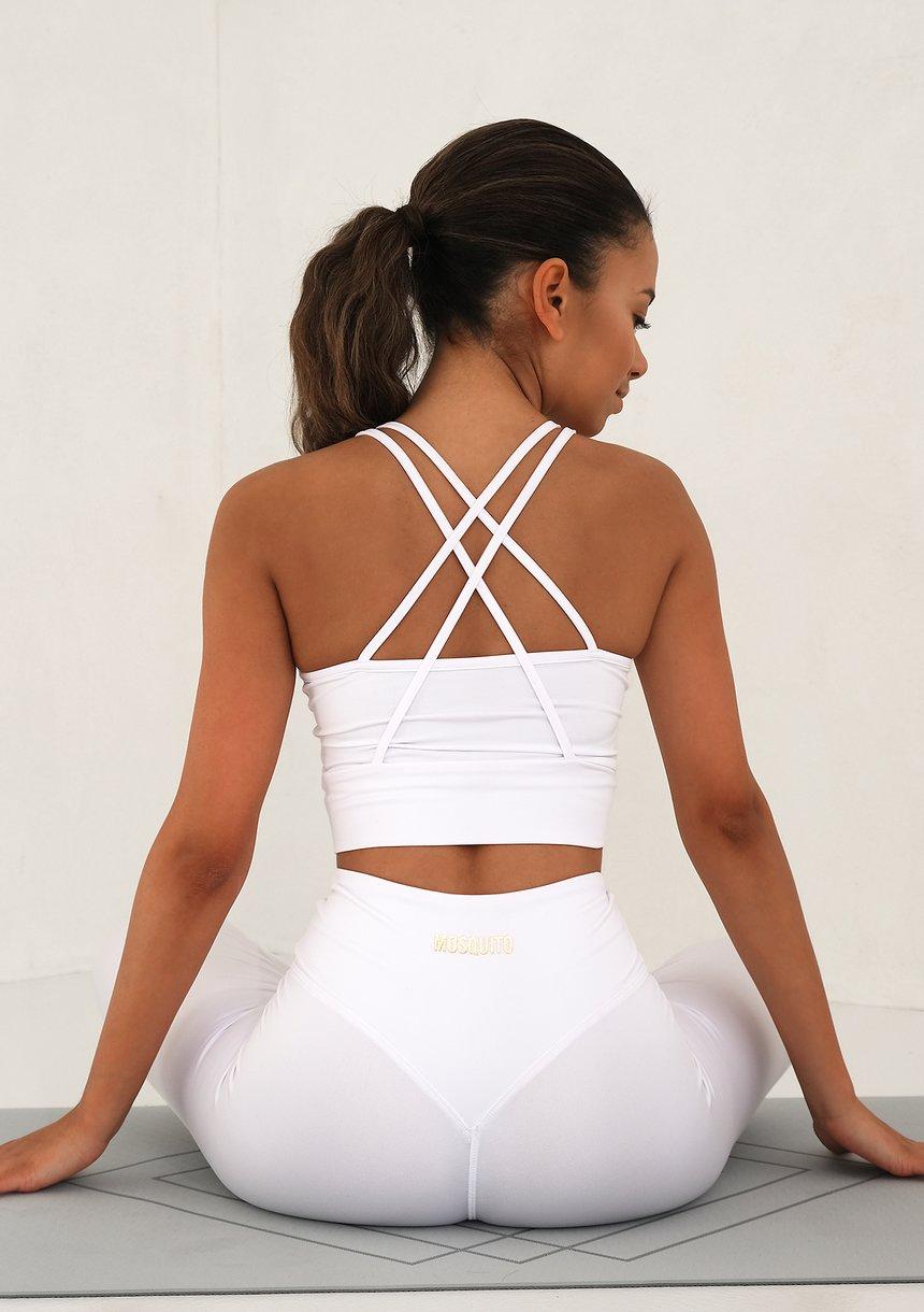 Strip Back Top White