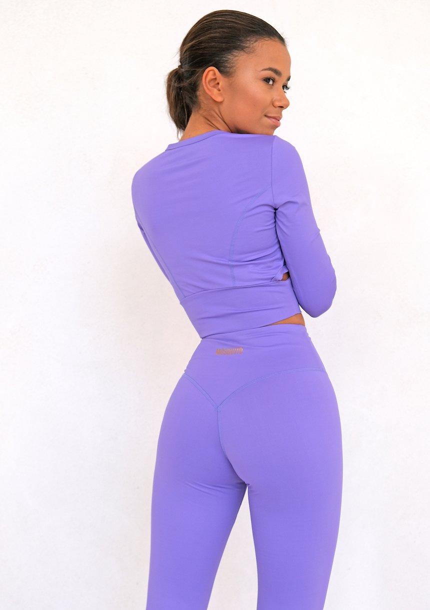 Avy Long Sleeve Violet