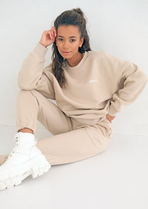 Warm Sand Simple Sweatshirt