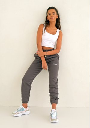 Dark Stone loose fit sweatpants