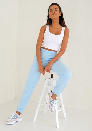 Baby Blue loose fit sweatpants