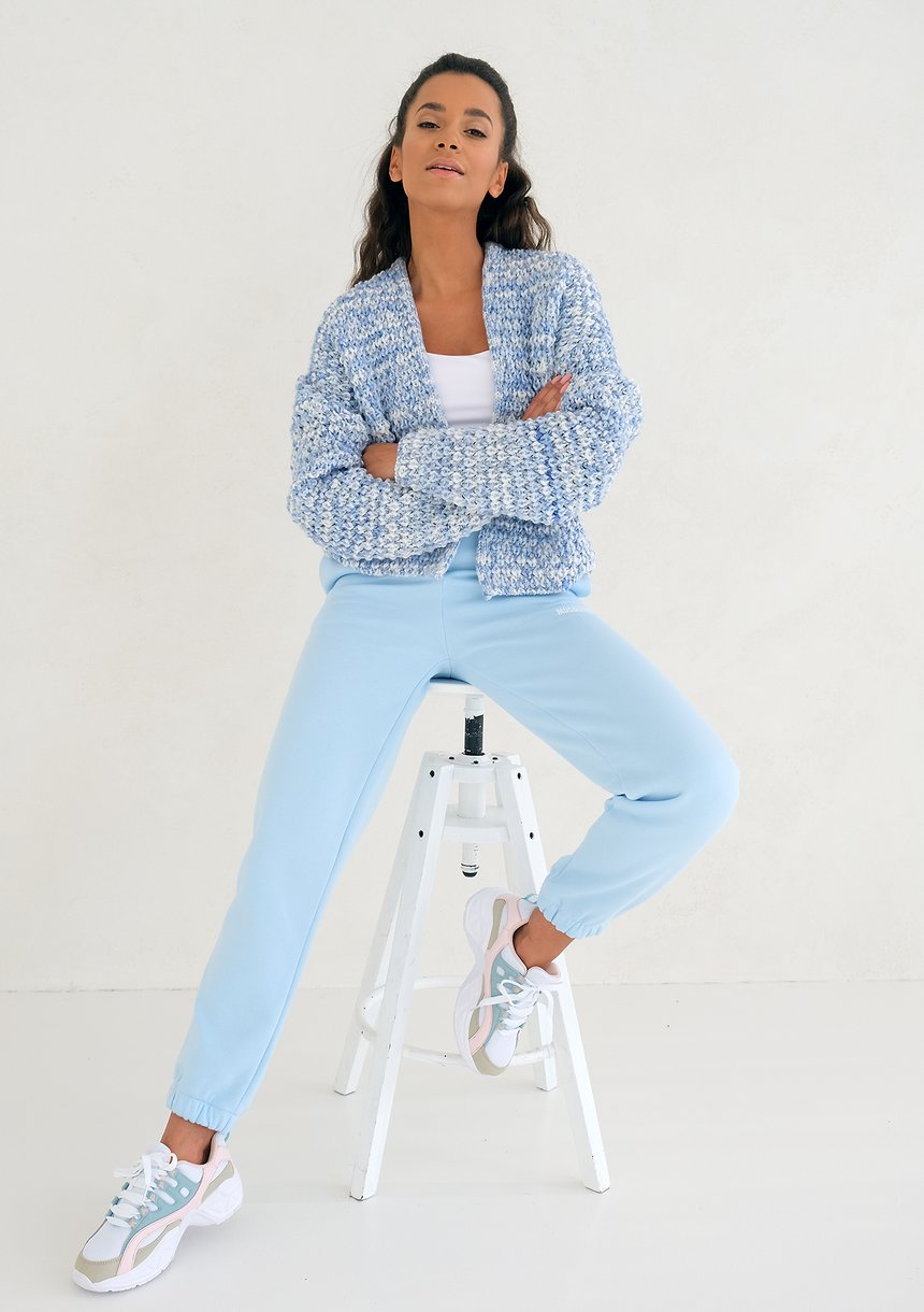 Baby Blue loose fit sweatpants